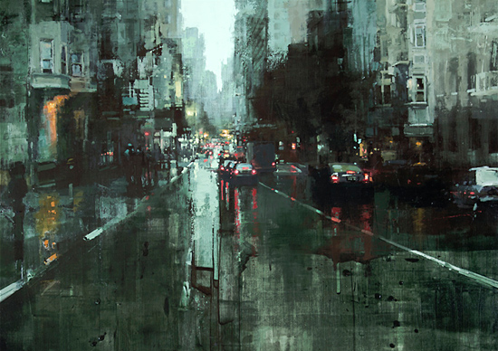 Cityscapes: Paintings by Jeremy Mann | Inspiration Grid