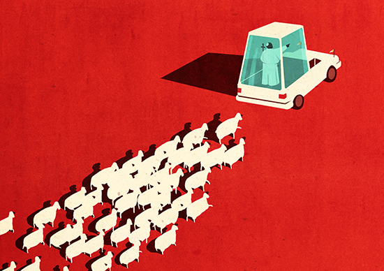 Editorial Illustrations By Emiliano Ponzi Daily Design Inspiration For Creatives Inspiration Grid