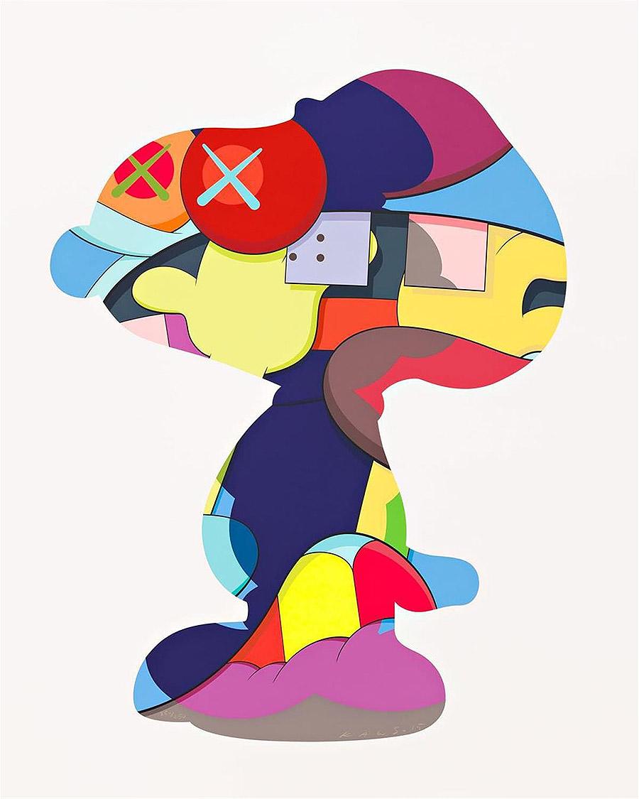 Cartoon,Inspired Artworks by KAWS