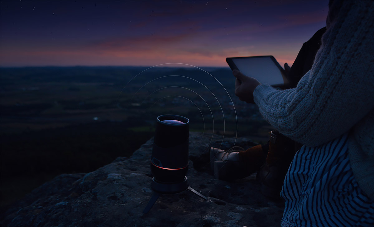 aeon telescope by marius kindler