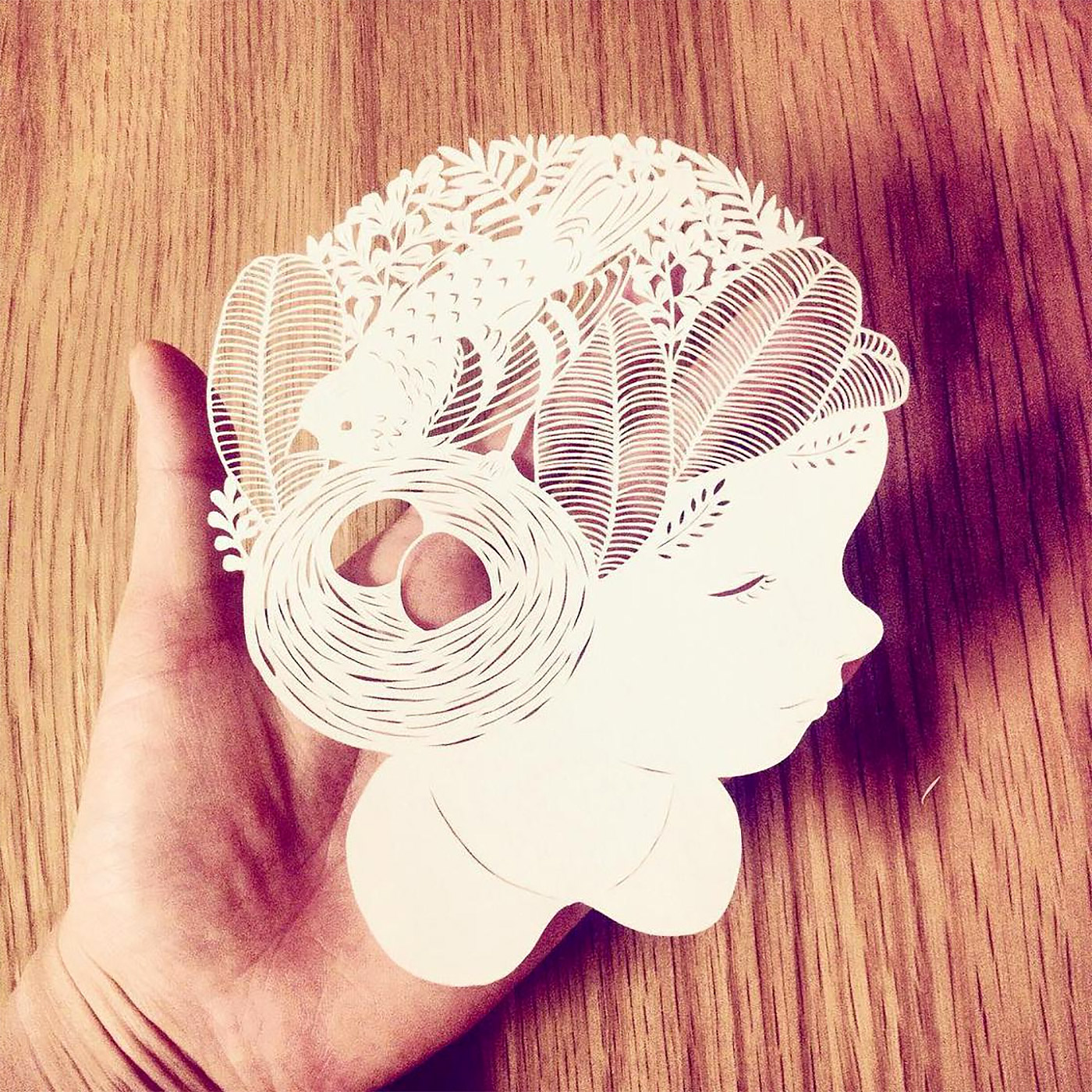 Paper Cut Artworks by Kanako Abe | Daily design inspiration for creatives |  Inspiration Grid
