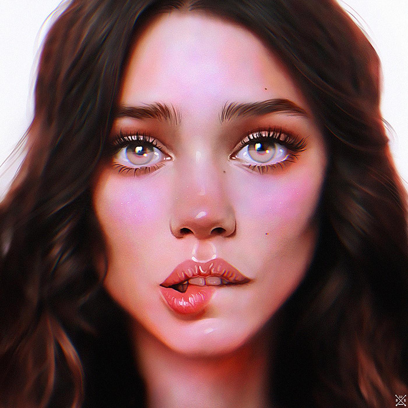 Expressive Female Portraits By Julia Razumova