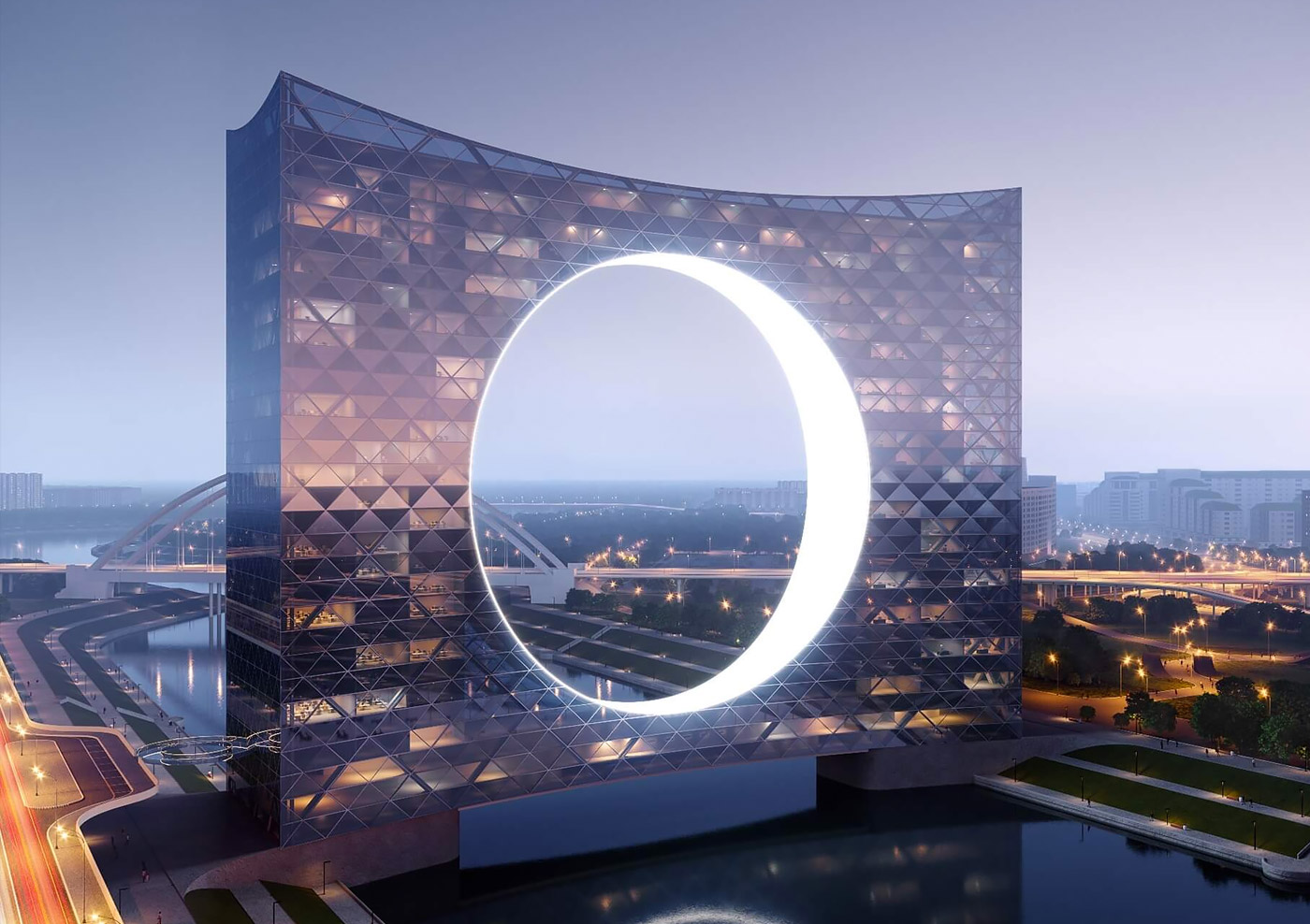 Of the sun tower