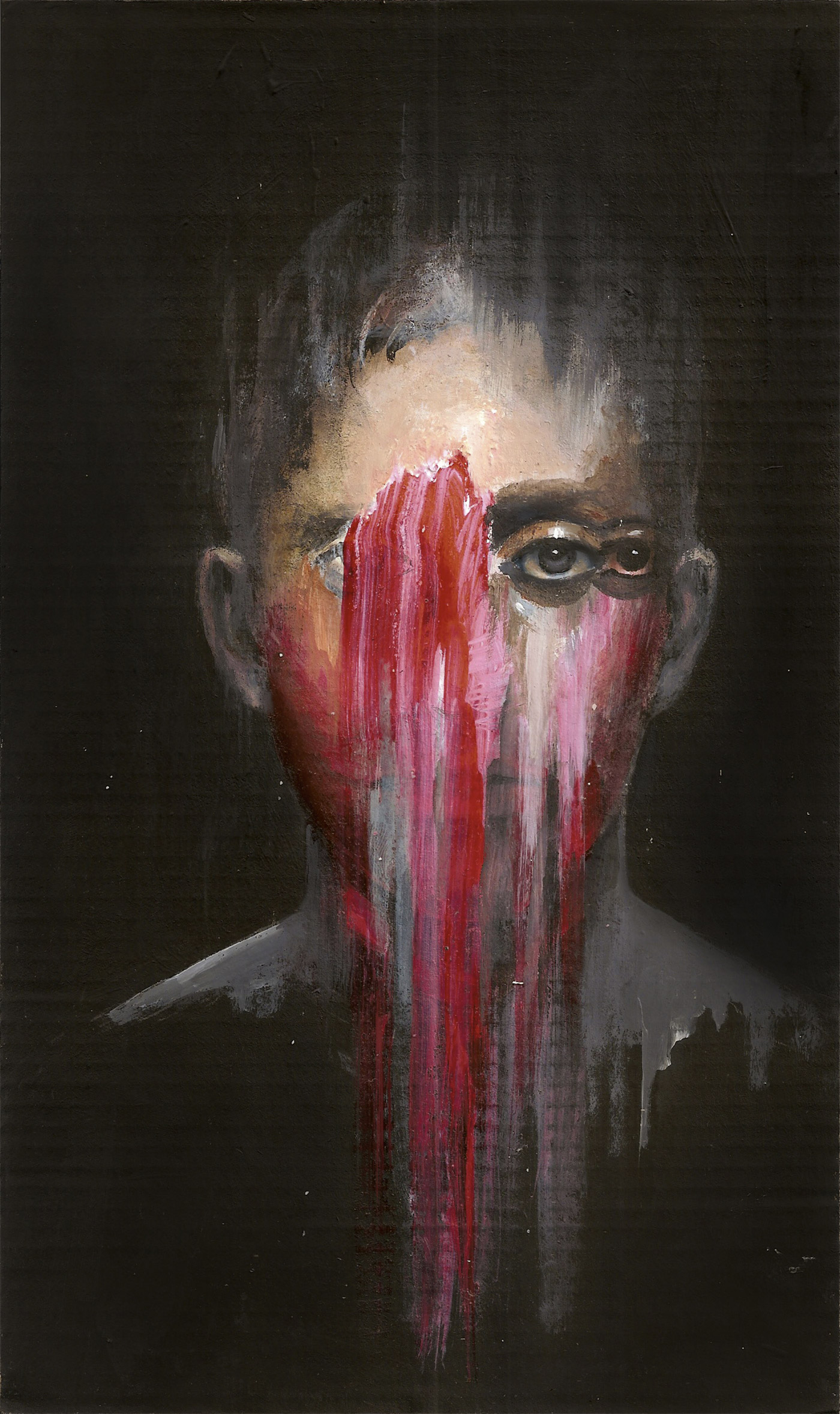 Fading Figures Expressive Paintings By Nima Tayebian