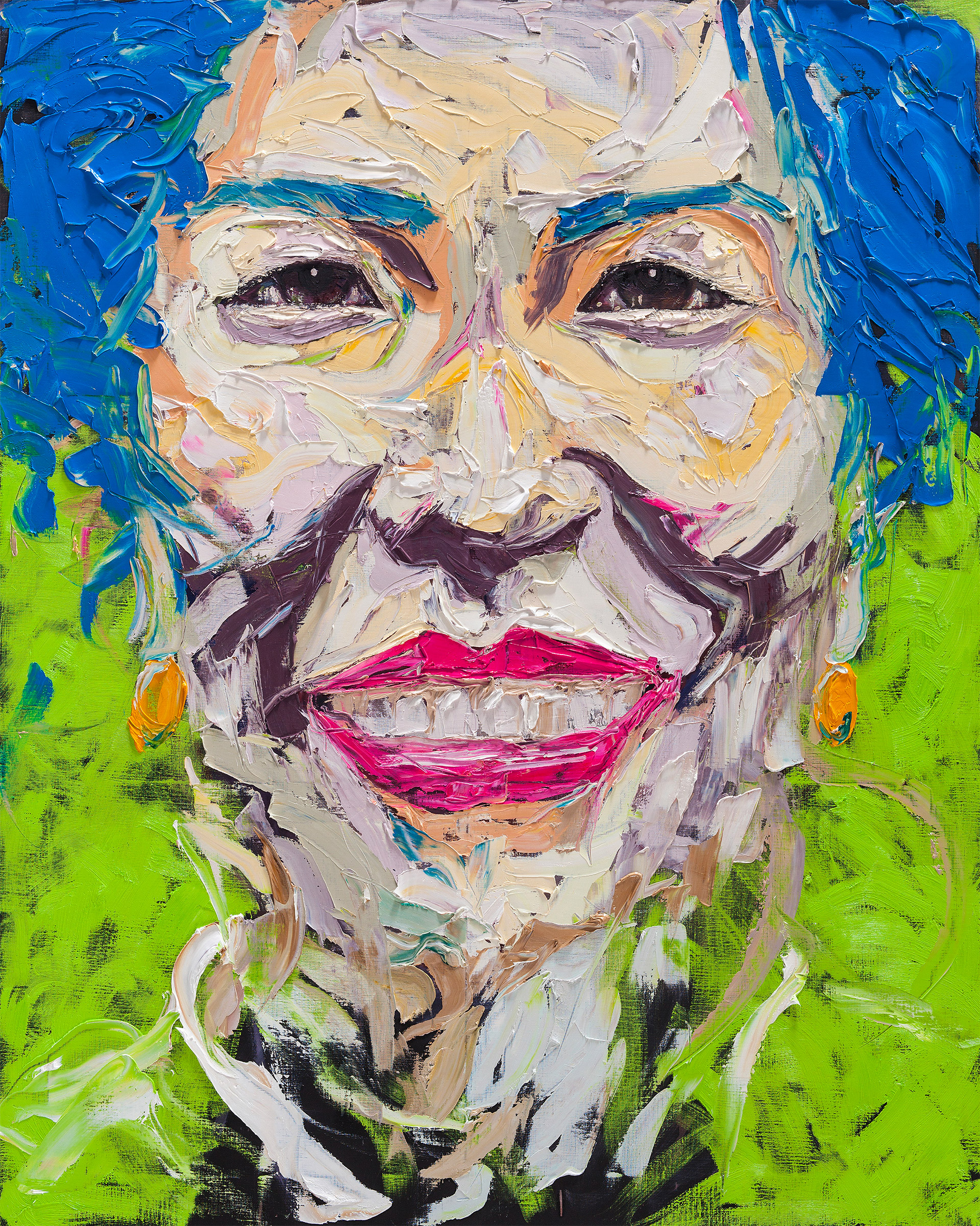Expressive Portrait Paintings By Lim Nam Hun Daily Design Inspiration For Creatives Inspiration Grid