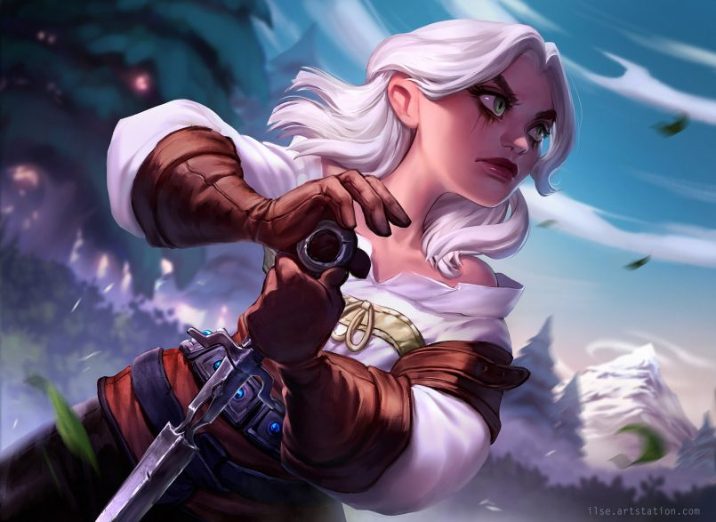 The Witcher Fan Art Collection Daily Design Inspiration For